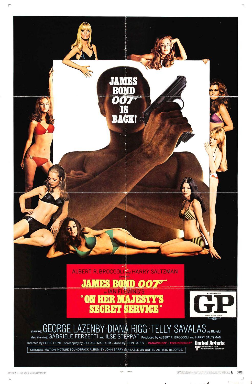 On Her Majesty's Secret Service Poster 2 | Mr Movie Fiend ...