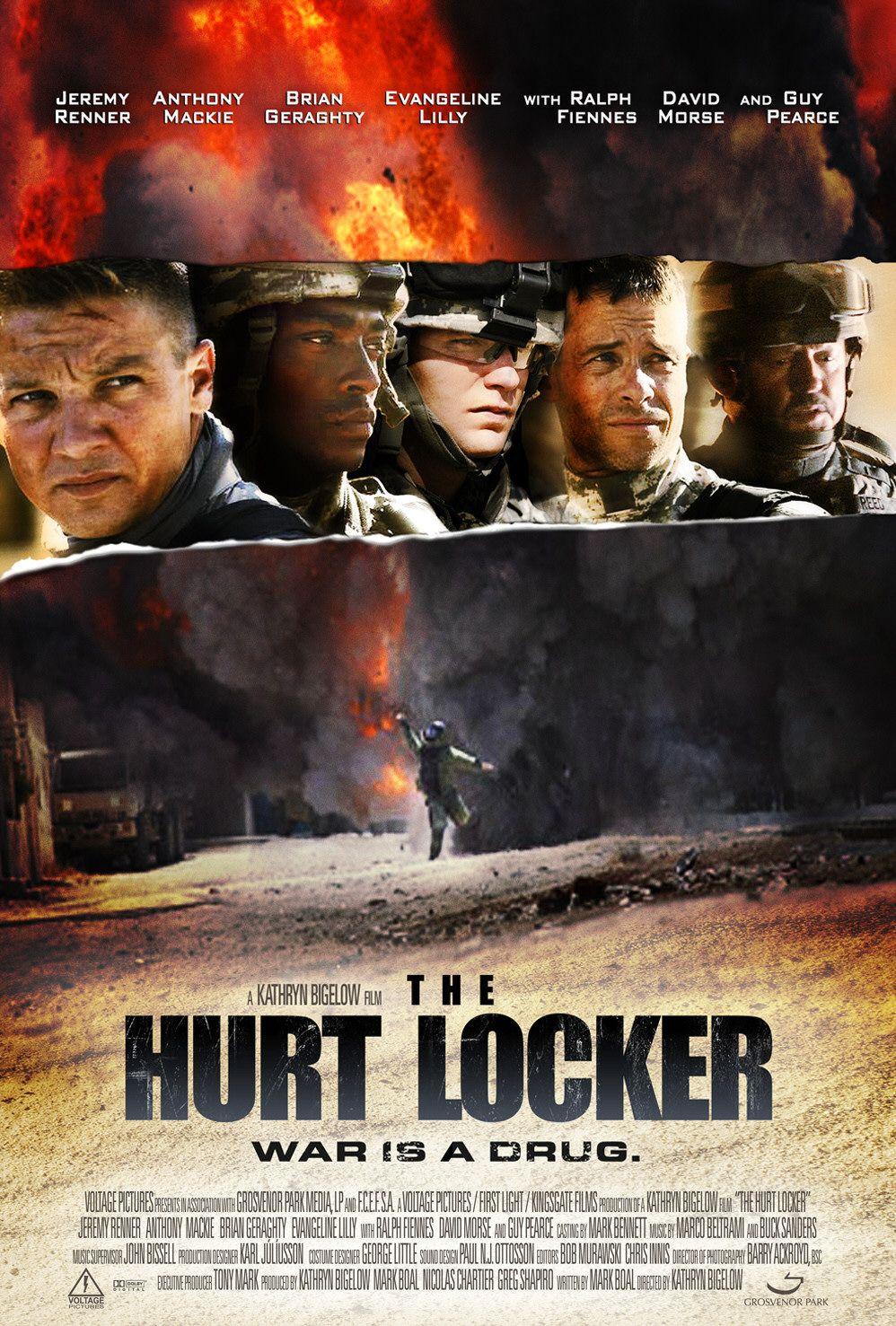The Hurt Locker Poster 6 | Mr Movie Fiend's Movie Blog