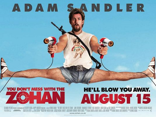 Image Result For Adam Sandler Dont Mess With The Zohan Full Movie