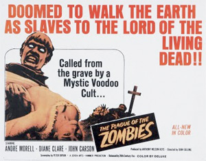 Poster: The Plague of the Zombies