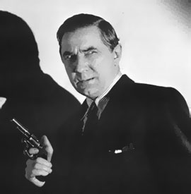 Bela Lugosi as gangster Eric Marnay