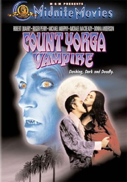Count Yorga, Vampire DVD cover art